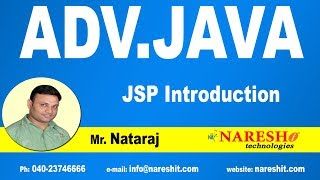 JSP Introduction | Advanced Java Tutorial | Mr. Nataraj