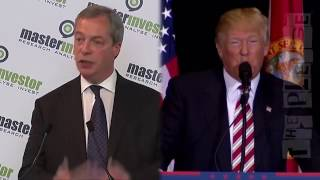 Donald Trump ft. 'Are Nige - Just the Two of Us.