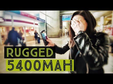 VIAGGIO con AGM X1: resiste a tutto e ha una super batteria