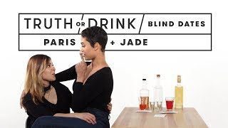 Blind Dates Play Truth or Drink (Paris & Jade)   Truth or Drink   Cut