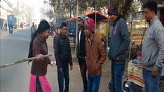 Lady Police ने चलाया Operation Majnu  - मनचलो को पकड़ पकड़ के पीटा