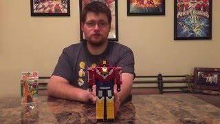 Zyuohger Cube Kirin (Giraffe) - Captain Subpar's Toy Reviews