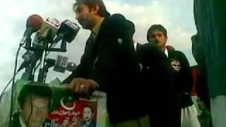 IMRAN KHAN in swat sher khan shaheed home