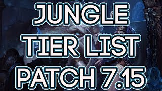 Jungle Tier List Patch 7.15   Best Junglers To Carry Solo Queue Patch 7.15