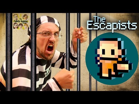 Duddy tries to Escape from Jail Lets Play THE ESCAPISTS FGTEEV Gameplay