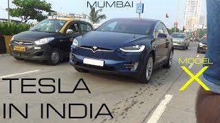 India's FIRST TESLA | Tesla Model X 90D | Mumbai | India