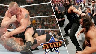 ملخص عرض سامرسلام 2016 ¶ WWE SummerSlam 2016 Highlights