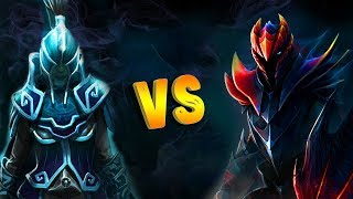 PHANTOM ASSASSIN VS DRAGON KNIGHT DOTA 2