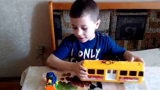 Transport. A short English video lesson from my little son.