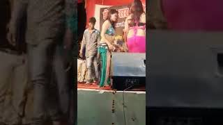 sexy hindu girl opened dance in stage
