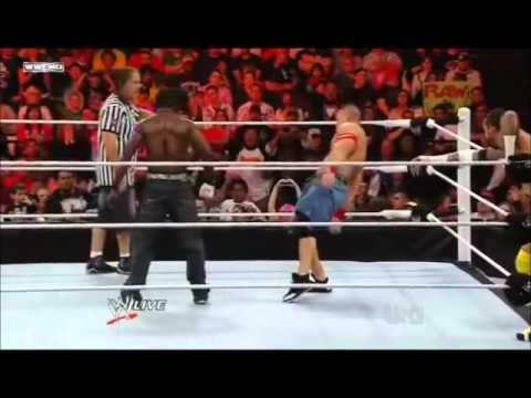 Rey Mysterio & John Cena VS CM Punk & R Truth