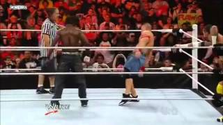 Rey Mysterio & John Cena VS CM Punk & R Truth