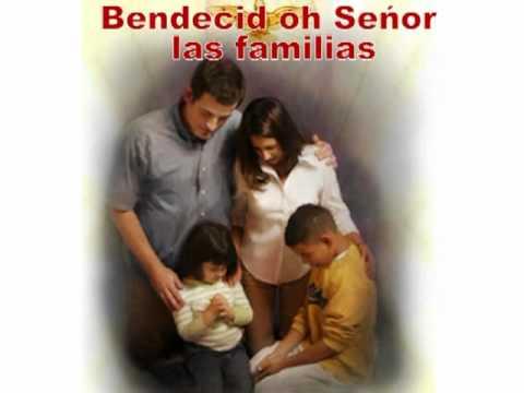 Bendecid oh señor mi familia