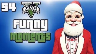 GTA 5 Next Gen Funny Moments Ep. 54 (Christmas DLC, Present Trolling, Santa Delirious )