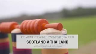 WT20Q: Thailand v Scotland