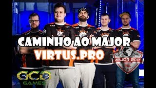 CS:GO - Caminho ao Major: Virtus.pro [PGL Major Krakow 2017]