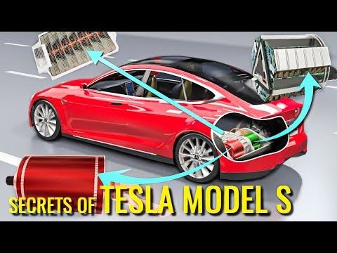 How does an Electric Car work Tesla Model S