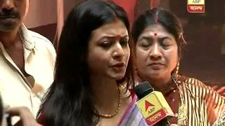 Bengali film stars Koyel and Ranjit Mallick busy with Saptami puja preparation in their house
