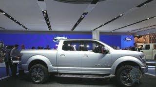 Ford Atlas Concept - 2013 Detroit Auto Show