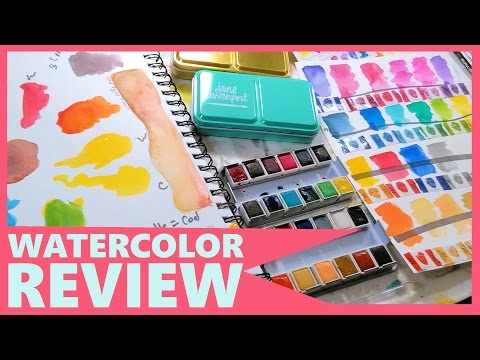 watch Jane Davenport Watercolor Review (In-Depth with comparisons)