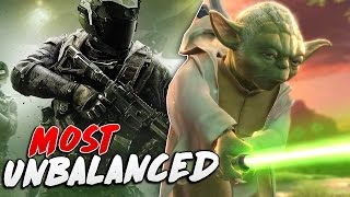 5 Video Games That Were Very Unbalanced