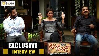 Jr NTR, Samantha & Koratala Siva Exclusive Interview   Janatha Garage Movie - Filmyfocus.com