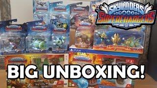 BIG UNBOXING Skylanders SuperChargers!