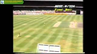 Sri Lanka's first ODI win on Australian soil, 1985