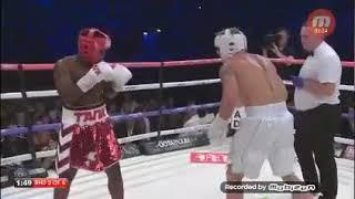 Jake Paul vs Deji Boxing Fight! Jake Paul KNOCKS OUT Deji!