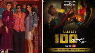 ZERO Trailer Breaks All Records | Shahrukh Khan | Latest Bollywood Gossips 2018 English