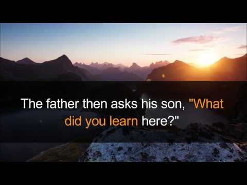 A Rich Father's Lesson To His Son