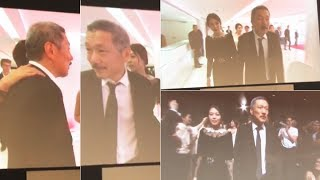 '불륜' 김민희-홍상수, 거침 없는 스킨십 '당당하네~' ('칸 영화제' 현지 포착)