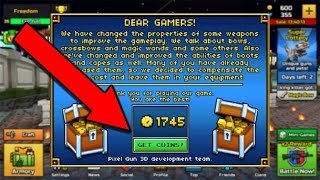*Extremely Easy* Get Unlimited Coins In Pixel Gun 3D 2017 (Unlimited Gems & Coins)