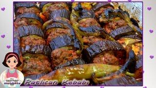 Kolay Patlıcan Kebabı Tarifi-Fırında Patlıcan Kebabı Nasıl Yapılır?-Patlıcan Kebabı Yapımı