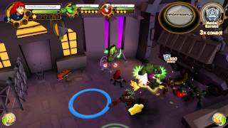 Marvel Super Hero Squad Online Black Widow Gameplay- HD