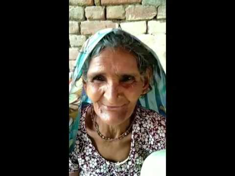 Indian old woman say i love you .plz try