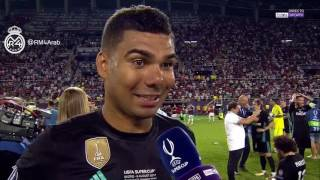 كاسيميرو: أنا سعيد بالهدف لكني أسعد بعمل الفريق، نحن نكتب التاريخ !