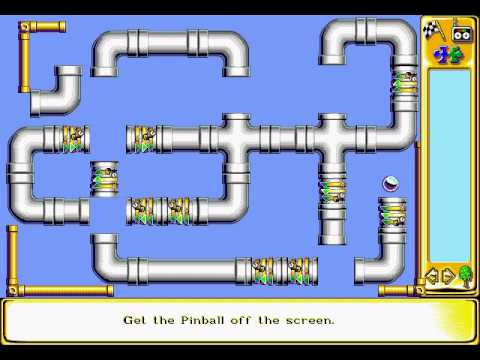The Incredible Machine 2 Sierra On Line Inc. 1994 Tutorial Easy and Medium Puzzles