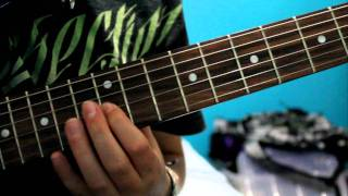 Avenged Sevenfold - Nightmare Intro Guitar Tutorial /w Tabs