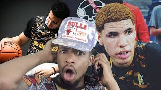 MELO CANT BE STOPPED!! LAMELO & LIANGELO GO CRAZY IN FINAL JBA GAME
