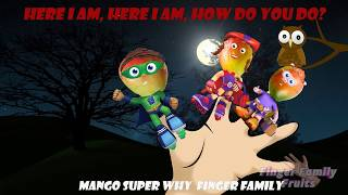 Super Why Mango Fruits Finger Family Song Nursery Rhymes