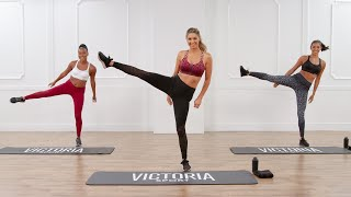 20-Minute Victoria Sport Workout For Toned Abs and Legs