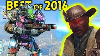 Fallout 4 TOP 5 MODS - Full Story / Best of 2016