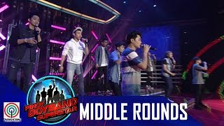 Pinoy Boyband Superstar Middle Rounds: Team B -