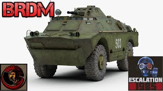 Soviet BRDM Series Scout Cars | ESCALATION 1985 GAME NEWS!