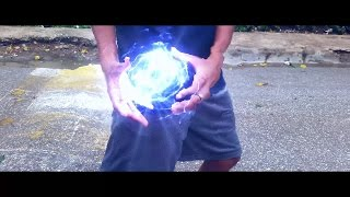dragon ball z kamehameha real life after effects