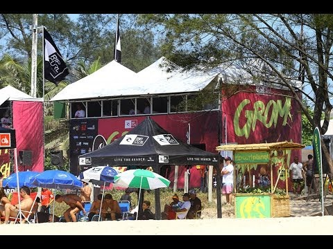 Brazil: 2ª etapa Canto do Recreio/RJ - Rip Curl Grom Search 2014
