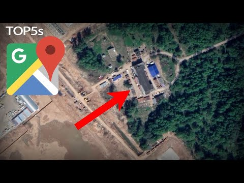 5 Disturbingly Shocking Discoveries on Google Maps Earth & Street View
