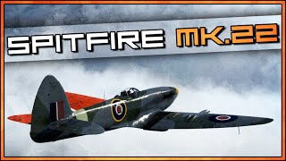 War Thunder RB Gameplay - Spitfire F Mk.22 - Bomber Spam...