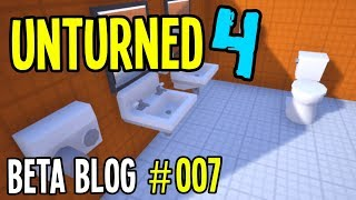 Unturned 4.0 - BETA DEVLOG #007 - DRINKING TOILET WATER?!
